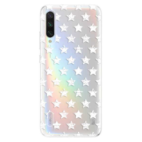 Odolné silikonové pouzdro iSaprio - Stars Pattern - white - Xiaomi Mi A3