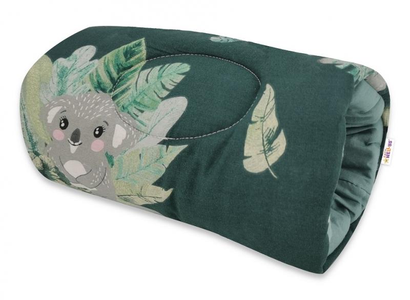 Baby Nellys Kojící polštář na ruku, Tropical Koala - zelená