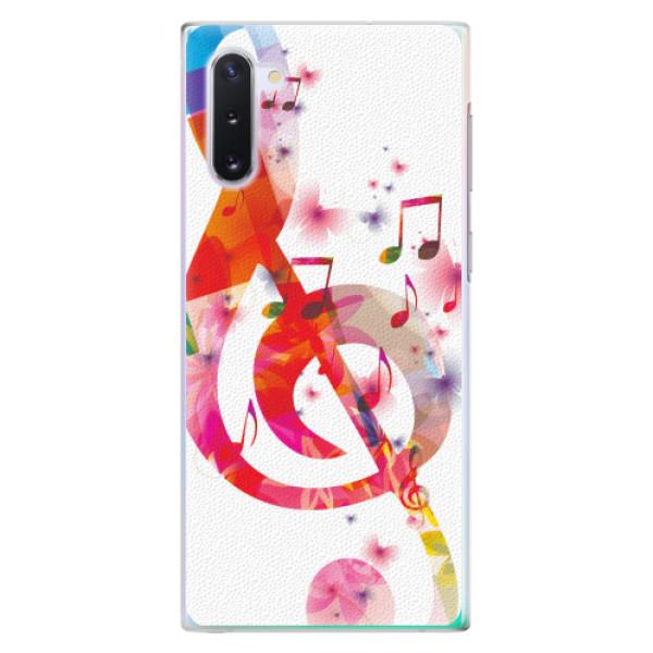 Plastové pouzdro iSaprio - Love Music - Samsung Galaxy Note 10