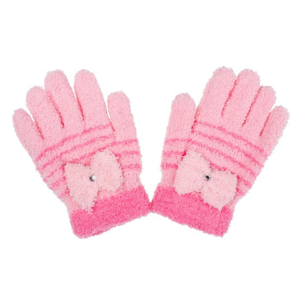 Dětské zimní froté rukavičky New Baby