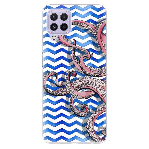 Odolné silikonové pouzdro iSaprio - Octopus - Samsung Galaxy A22