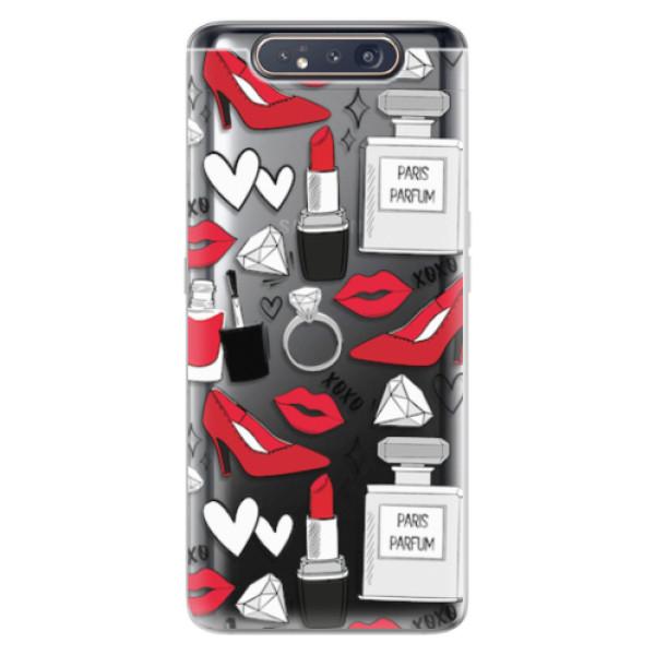 Odolné silikonové pouzdro iSaprio - Fashion pattern 03 - Samsung Galaxy A80