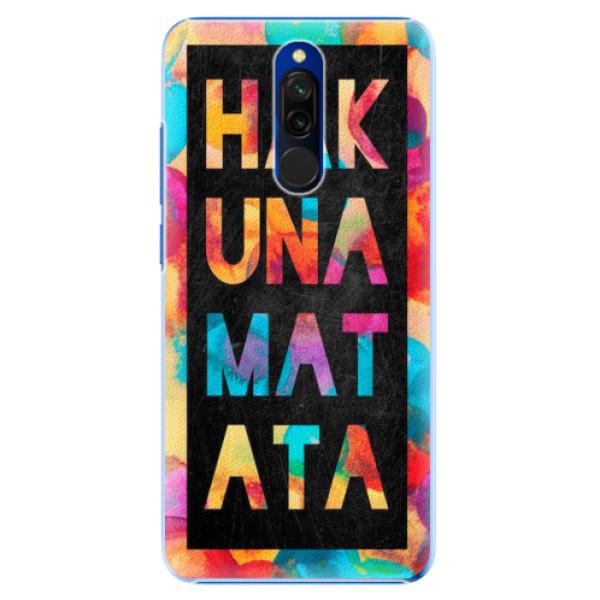 Plastové pouzdro iSaprio - Hakuna Matata 01 - Xiaomi Redmi 8