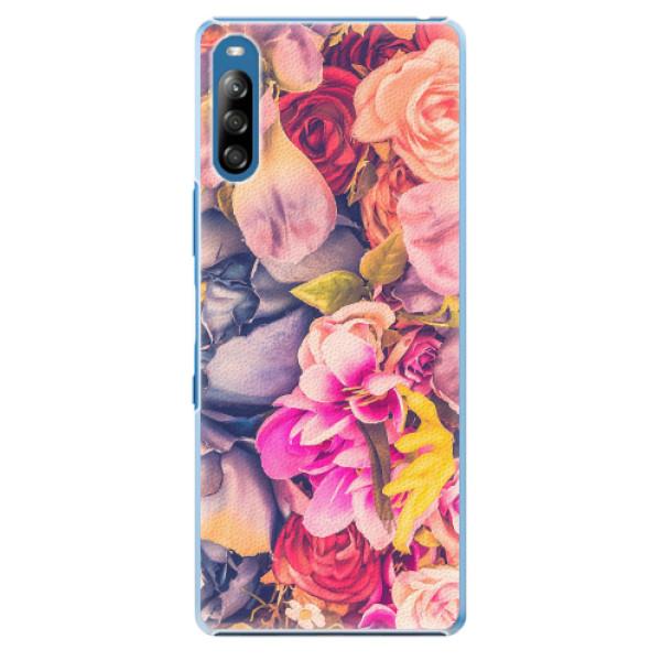 Plastové pouzdro iSaprio - Beauty Flowers - Sony Xperia L4