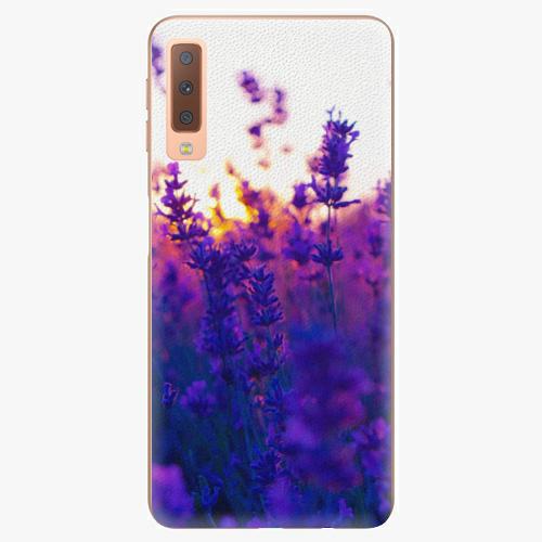 Plastový kryt iSaprio - Lavender Field - Samsung Galaxy A7 (2018)