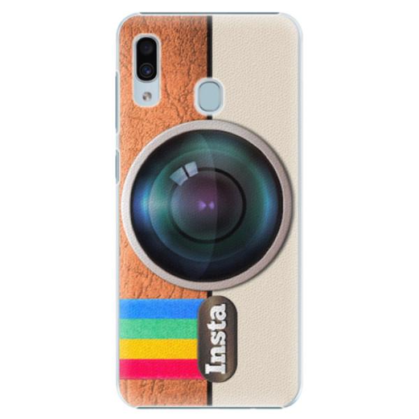 Plastové pouzdro iSaprio - Insta - Samsung Galaxy A30