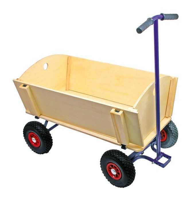 Small Foot Dřevěný vozik na tahání