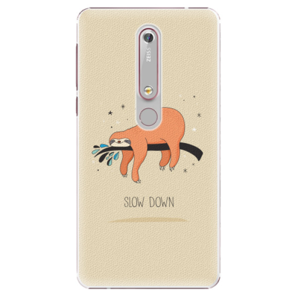 Plastové pouzdro iSaprio - Slow Down - Nokia 6.1