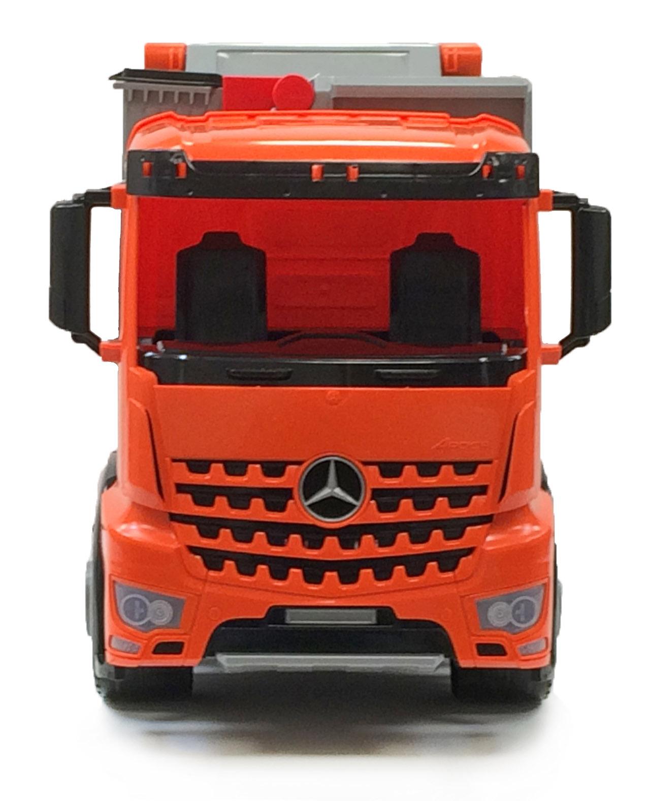 Auto popelářské Mercedes 72cm v krabici