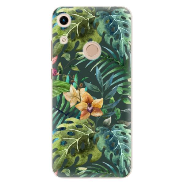Odolné silikonové pouzdro iSaprio - Tropical Green 02 - Huawei Honor 8A