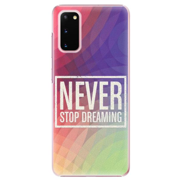 Plastové pouzdro iSaprio - Dreaming - Samsung Galaxy S20