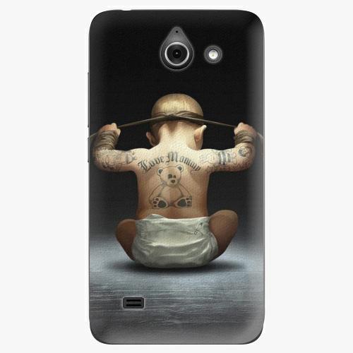 Plastový kryt iSaprio - Crazy Baby - Huawei Ascend Y550