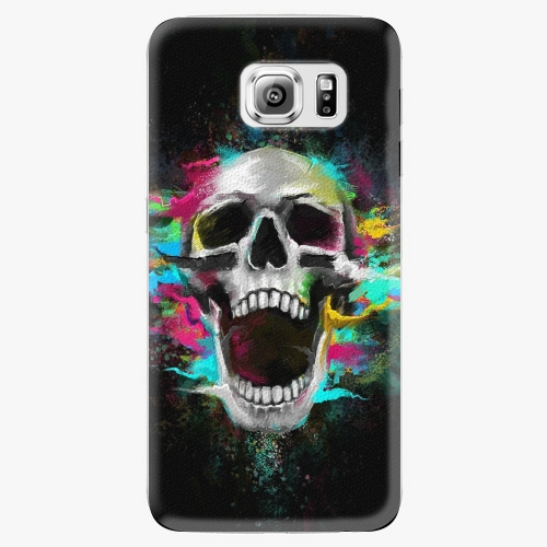 Plastový kryt iSaprio - Skull in Colors - Samsung Galaxy S6 Edge