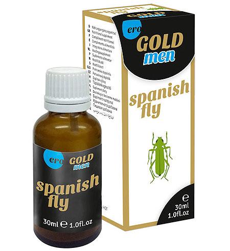 Španělské mušky Spain Fly men GOLD strong 30 ml