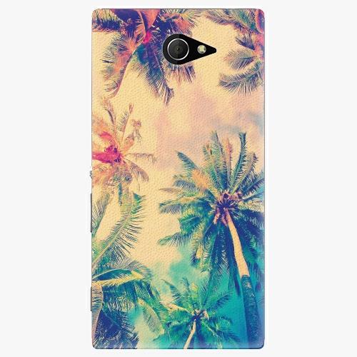 Plastový kryt iSaprio - Palm Beach - Sony Xperia M2