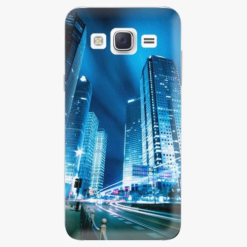 Plastový kryt iSaprio - Night City Blue - Samsung Galaxy J5