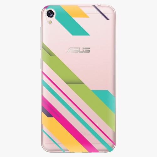 Plastový kryt iSaprio - Color Stripes 03 - Asus ZenFone Live ZB501KL