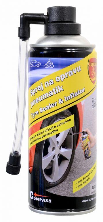 Sprej na lepení pneu CAPTAIN - 450ml