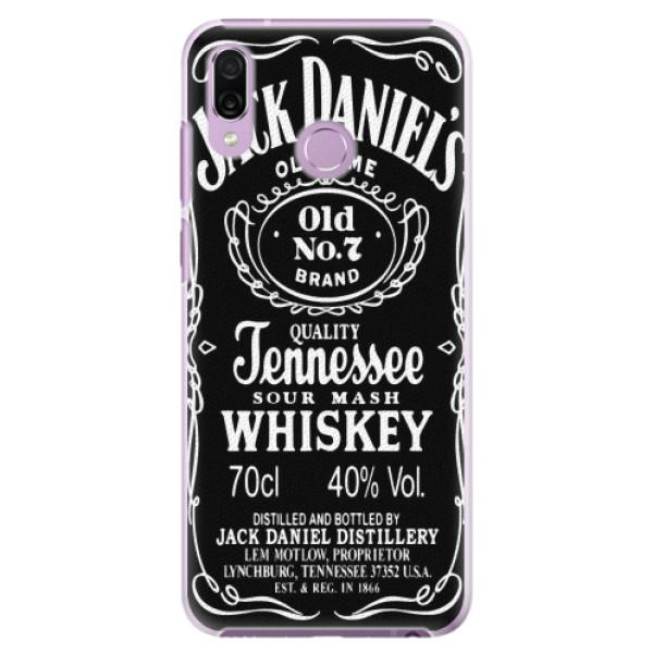 Plastové pouzdro iSaprio - Jack Daniels - Huawei Honor Play