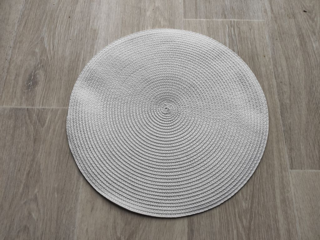 Prostírání kulaté 35 cm - bílá