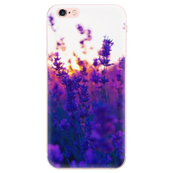 Odolné silikonové pouzdro iSaprio - Lavender Field - iPhone 6 Plus/6S Plus