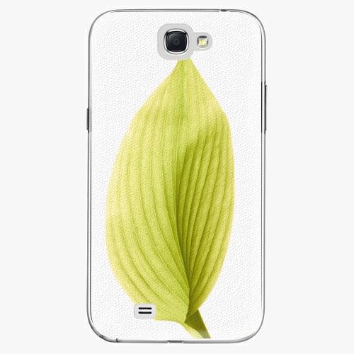 Plastový kryt iSaprio - Green Leaf - Samsung Galaxy Note 2