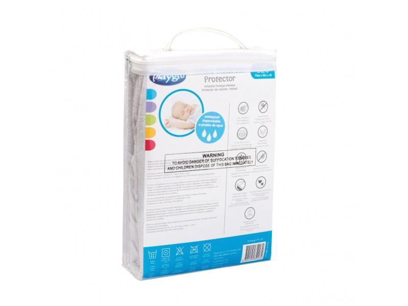 Playgro - Chránič na dětské matrace - Bavlněné froté