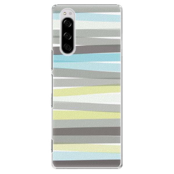Plastové pouzdro iSaprio - Stripes - Sony Xperia 5