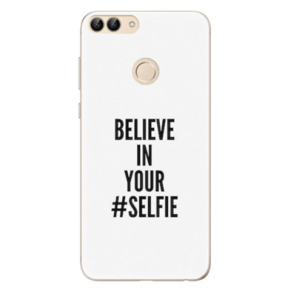 Odolné silikonové pouzdro iSaprio - Selfie - Huawei P Smart