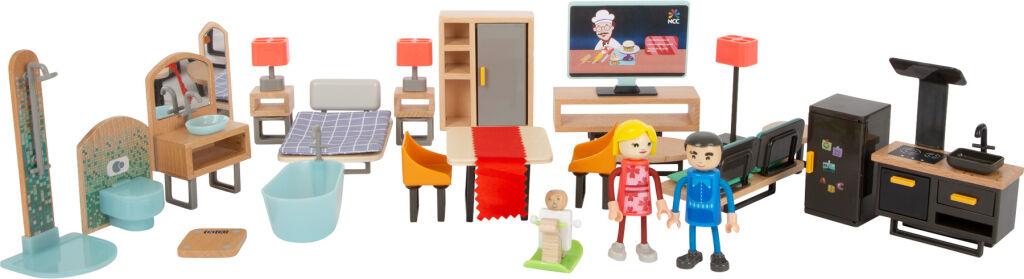 Small Foot Moderní sada nábytku pro panenky - poškozený obal