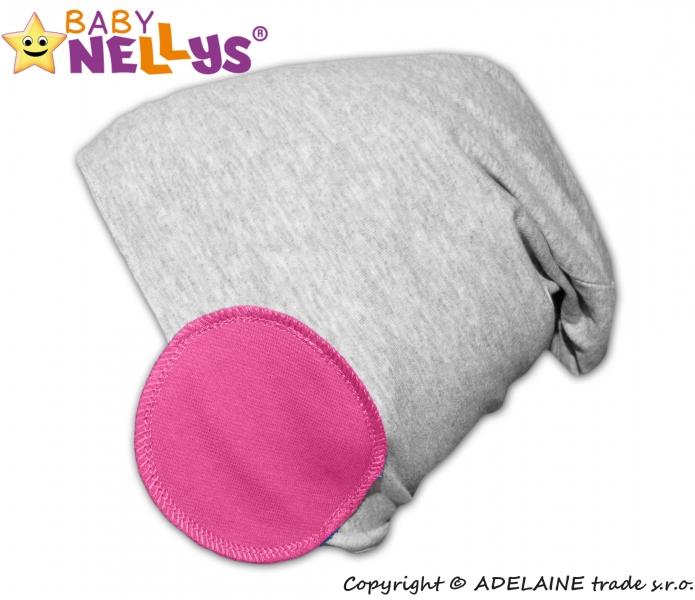 Bavlněná čepice Bubble - růžová - 48/52 čepičky obvod