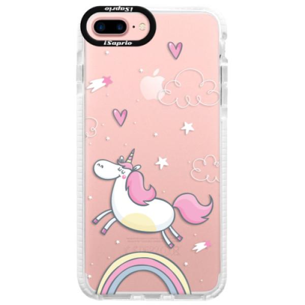 Silikonové pouzdro Bumper iSaprio - Unicorn 01 - iPhone 7 Plus