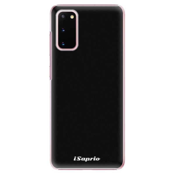 Plastové pouzdro iSaprio - 4Pure - černý - Samsung Galaxy S20