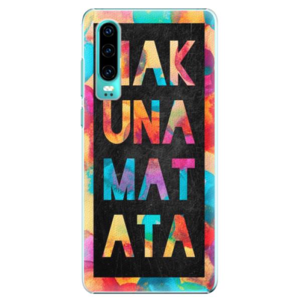 Plastové pouzdro iSaprio - Hakuna Matata 01 - Huawei P30