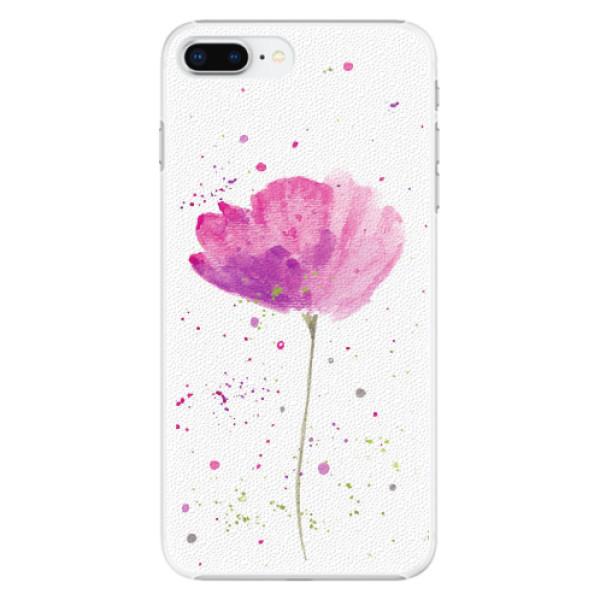 Plastové pouzdro iSaprio - Poppies - iPhone 8 Plus