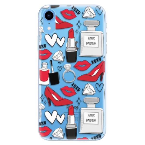 Odolné silikonové pouzdro iSaprio - Fashion pattern 03 - iPhone XR