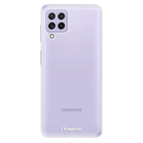 Odolné silikonové pouzdro iSaprio - 4Pure - mléčný bez potisku - Samsung Galaxy A22