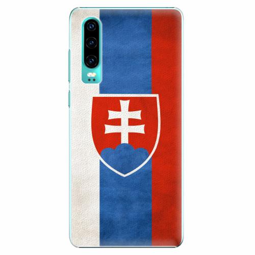 Plastový kryt iSaprio - Slovakia Flag - Huawei P30