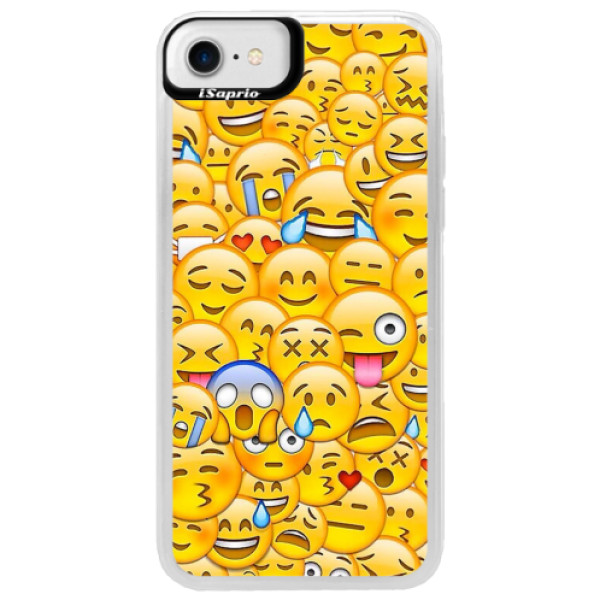 Neonové pouzdro Blue iSaprio - Emoji - iPhone 7