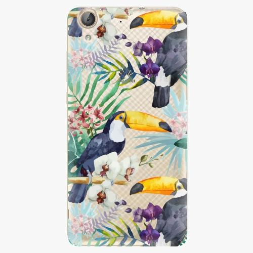 Plastový kryt iSaprio - Tucan Pattern 01 - Huawei Y6 II