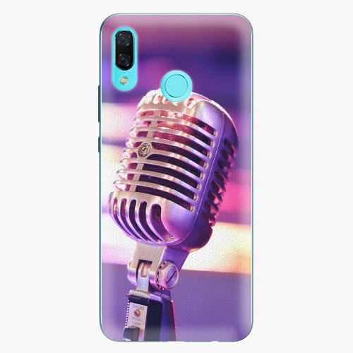 Plastový kryt iSaprio - Vintage Microphone - Huawei Nova 3