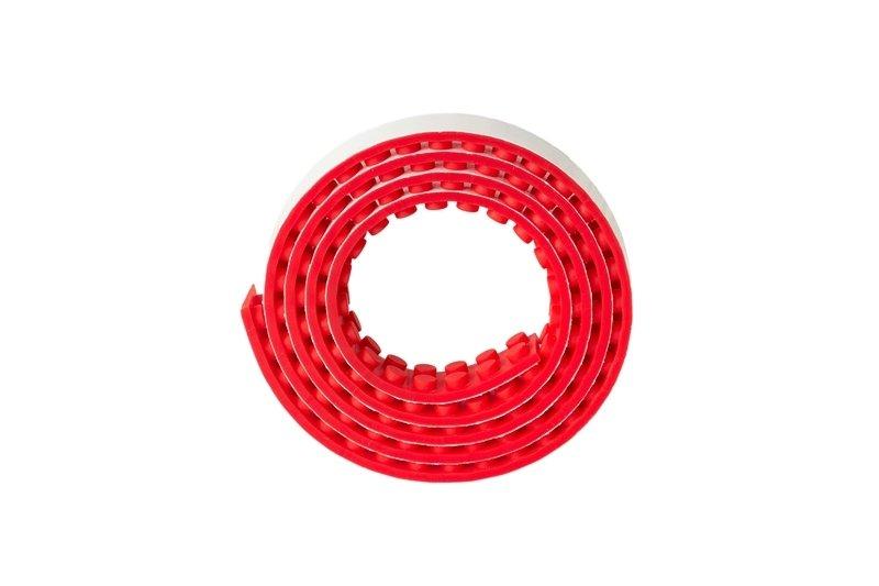 Nalepovací lego pásek - Červená