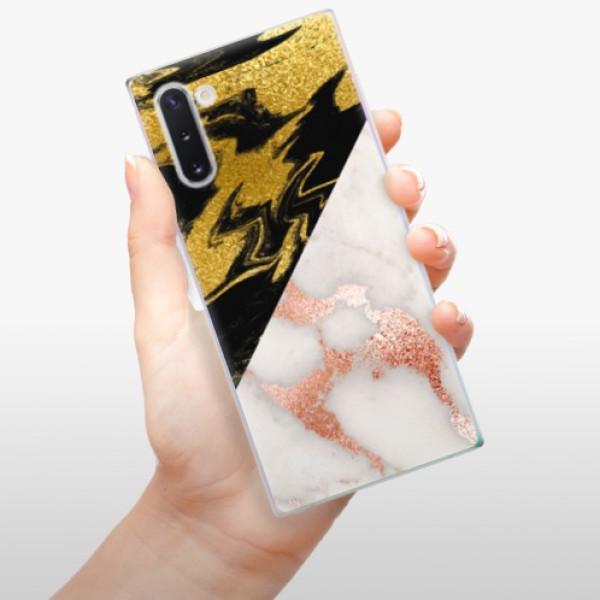 Odolné silikonové pouzdro iSaprio - Shining Marble - Samsung Galaxy Note 10