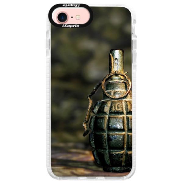 Silikonové pouzdro Bumper iSaprio - Grenade - iPhone 7