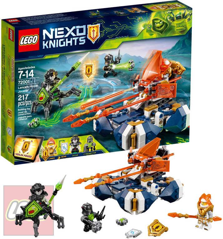 LEGO NEXO KNIGHTS Lanceův vznášející se turnajový vůz STAVEBNICE 72001