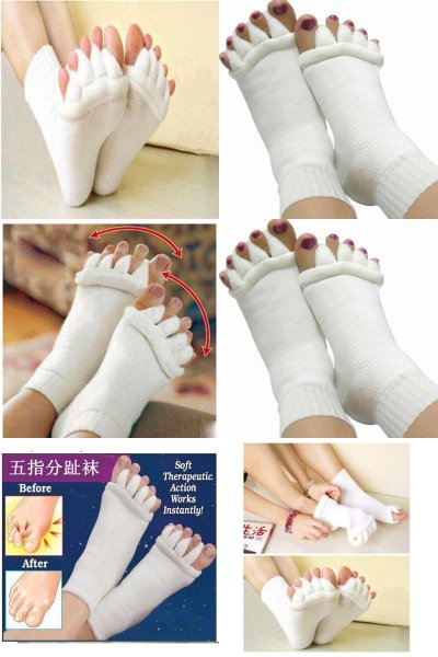 Relaxační prstové ponožky