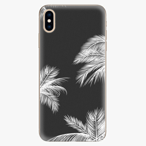 Plastový kryt iSaprio - White Palm - iPhone XS Max