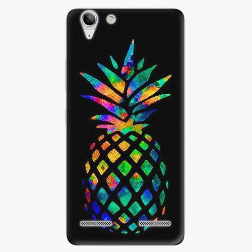 Plastový kryt iSaprio - Rainbow Pineapple - Lenovo Vibe K5