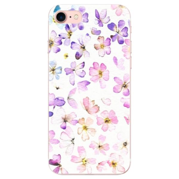 Odolné silikonové pouzdro iSaprio - Wildflowers - iPhone 7