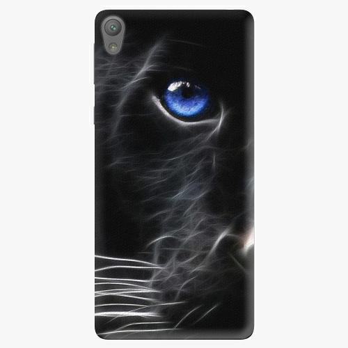 Plastový kryt iSaprio - Black Puma - Sony Xperia E5